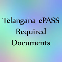 TS ePASS Required Documents