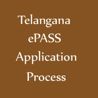 Telangana ePASS Application Process